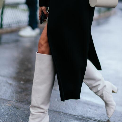 White Boots: Από τις πασαρέλες στο street style