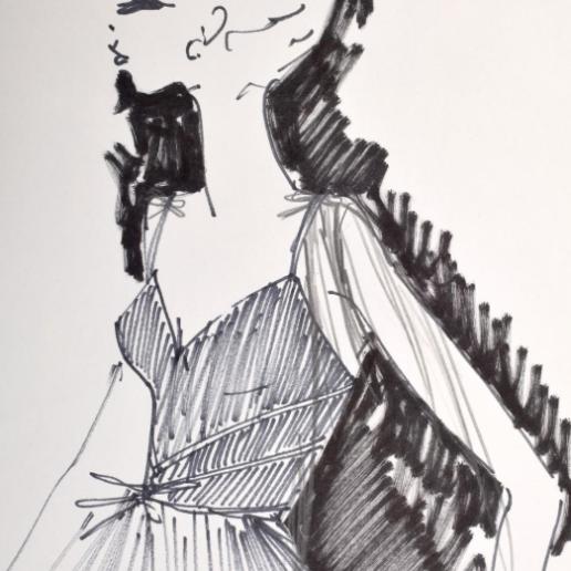 Τα σκίτσα του Karl Lagerfeld δημοπρατούνται