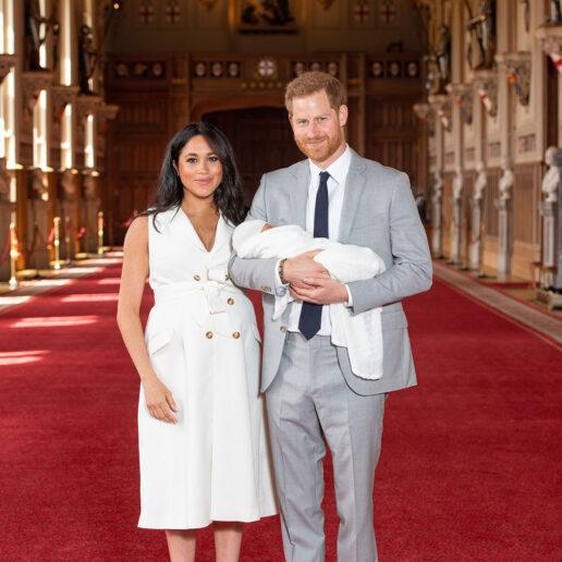Οι πρώτες φωτογραφίες του μωρού του Δούκα και της Δούκισσας του Sussex