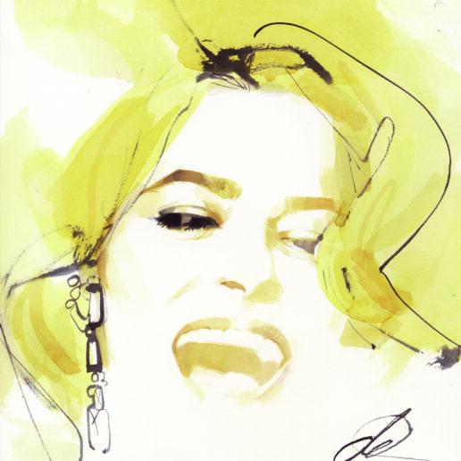 Ο David Downton συνεργάζεται με την Ορσαλία Παρθένη