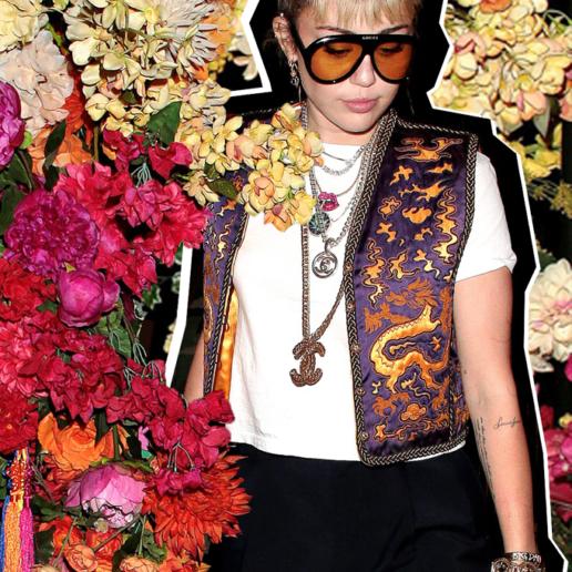Get Vintage: Η Miley Cyrus επιλέγει κομμάτια από προηγούμενες δεκαετίες