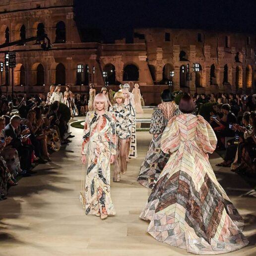 #SuzyCouture Fendi: A Final Tribute To Karl Lagerfeld In The Eternal City