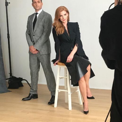 Behind the scenes: Φωτογραφίζοντας τους πρωταγωνιστές του Suits