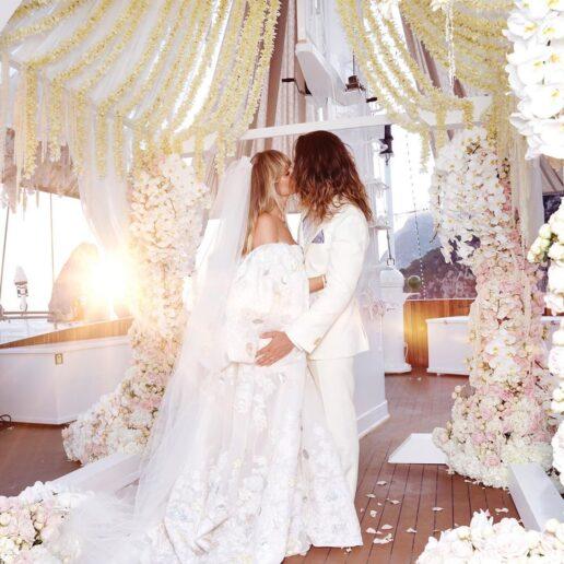 Η Heidi Klum παντρεύτηκε για δεύτερη φορά τον Tom Kaulitz στο Κάπρι, της Ιταλίας