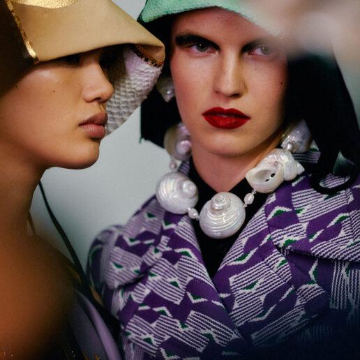 Prada SS20: Εναλλακτική ομορφιά από τους Pat McGrath και Guido Palau