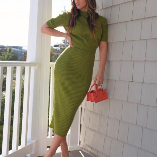 Spring Knits: Πλεκτά φορέματα για να πετύχετε το τέλειο σύνολο σε 5 λεπτά