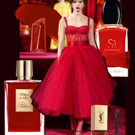 Simply Red: Το χρώμα του φθινοπώρου, από τις πασαρέλες στην ομορφιά