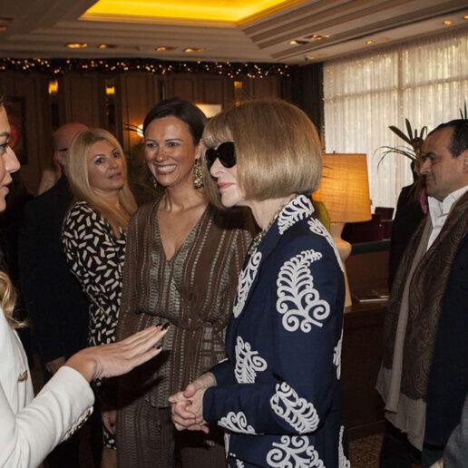 H Anna Wintour συνάντησε τους πρεσβευτές της ελληνικής μόδας στο πλαίσιο του Change Makers