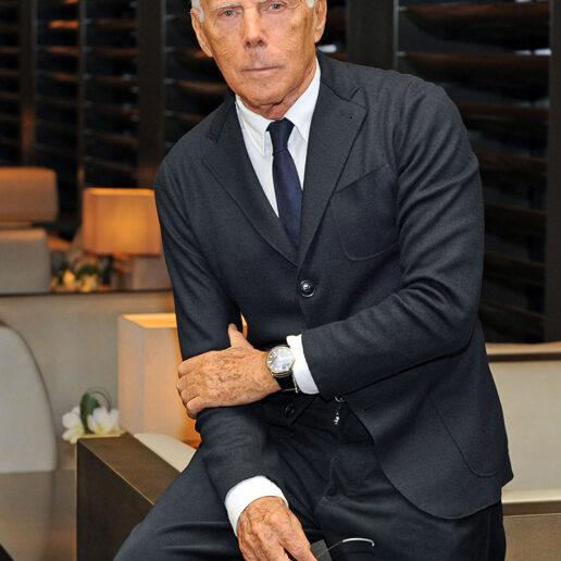 Giorgio Armani: «Με ενδιαφέρει η διάρκεια στη δουλειά μου»