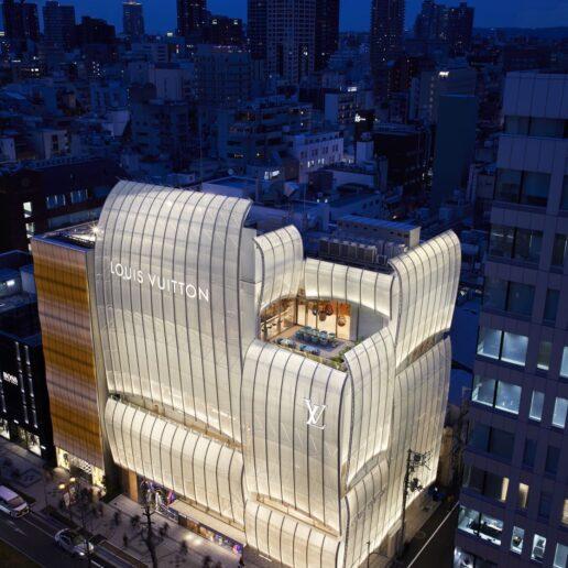Louis Vuitton: Mατιές στο νέο κτίριο του γαλλικού οίκου μόδας στην Οσάκα
