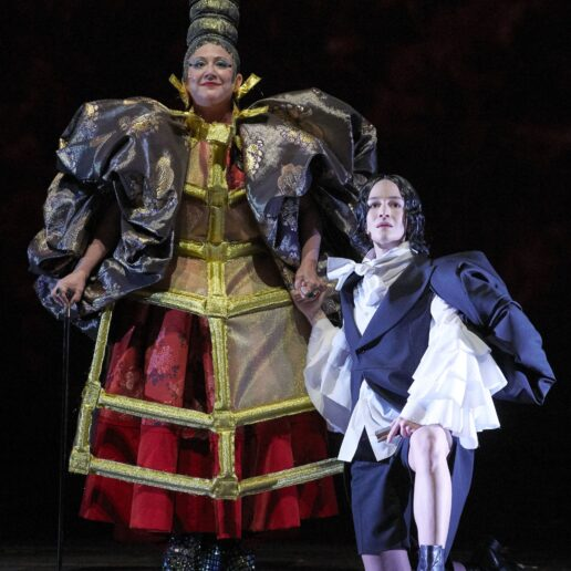 At The Vienna Opera, A Female Composer, Transgender Story, And Costumes by Comme