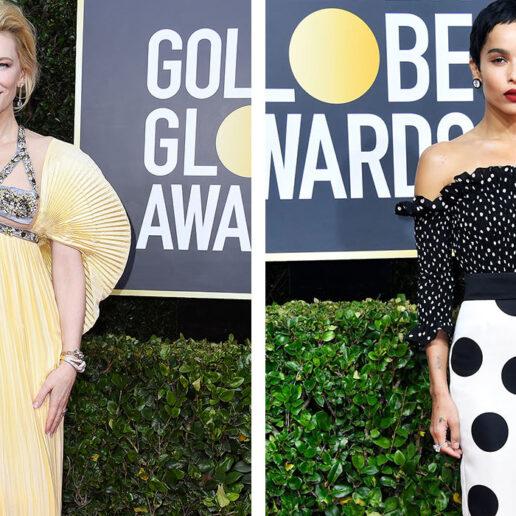 Cate Blanchett, Margot Robbie, Zoe Kravitz: Οι καλύτερες εμφανίσεις από τις Χρυσές Σφαίρες
