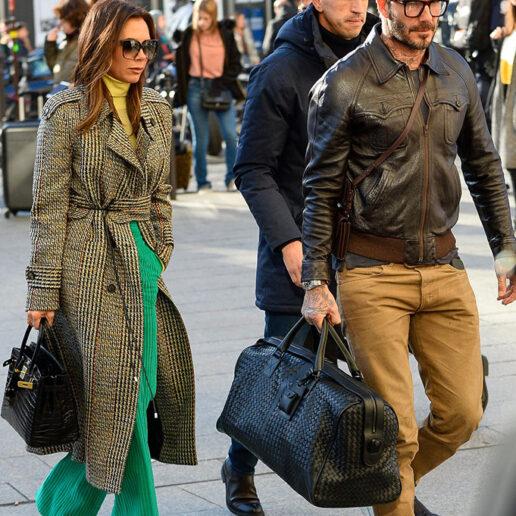 Φυσικά, η Victoria και ο David Beckham ταξιδεύουν με στιλ