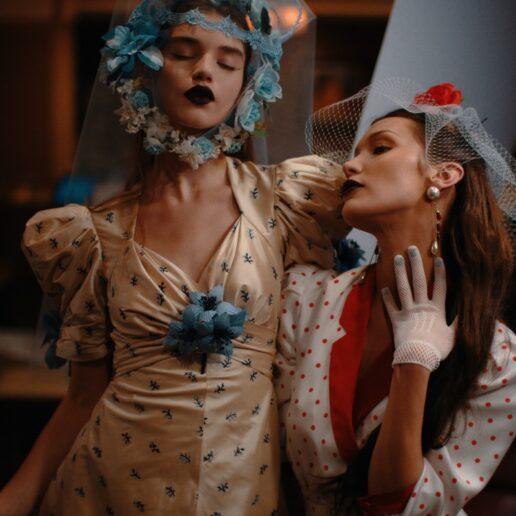 Dark Side: H 'σκοτεινή' ομορφιά του Rodarte Fall 2020