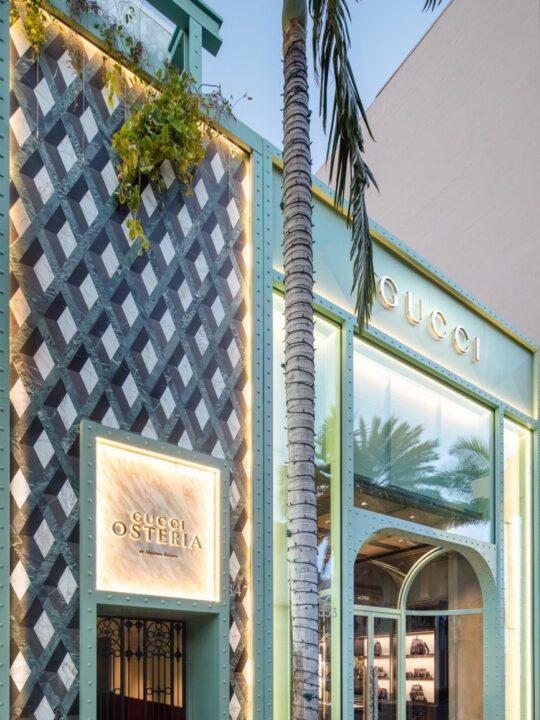 Ένα νέο εστιατόριο από τον οίκο Gucci στο Λος Άντζελες