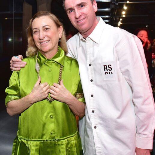 Miuccia Prada και Raf Simons: Μαζί στην Prada