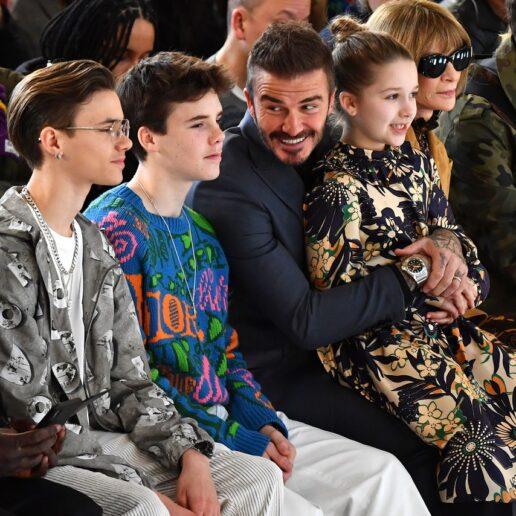 LFW Front Row: Η οικογένεια Beckham στο πλευρό της Victoria με στιλ