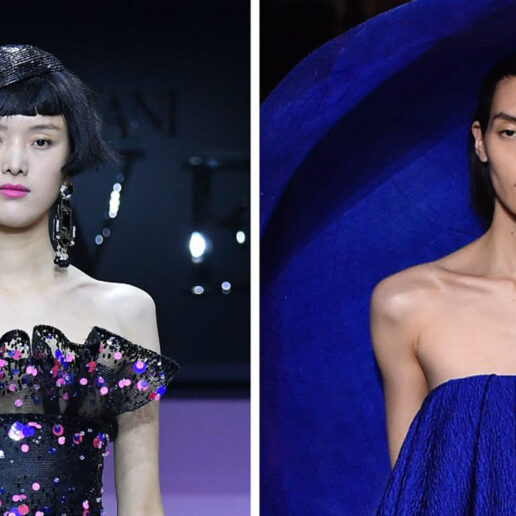 #SuzyCouture: Armani And Givenchy Provide Graceful Escapism