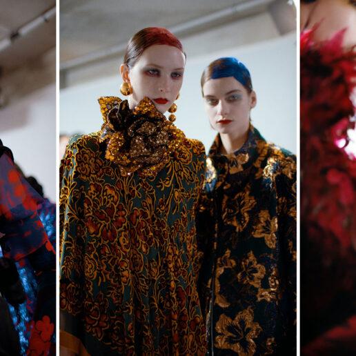 Dries Van Noten Beauty: Neon χρώματα και μαξιμαλισμός