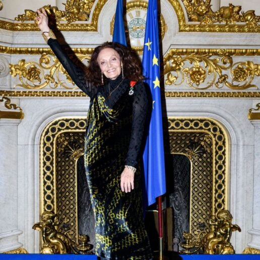 Η Diane Von Furstenberg βραβεύεται με το Légion d'Honneur