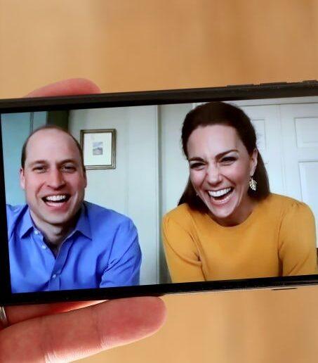 Kate Middleton και Πρίγκιπας William περνούν το δικό τους μήνυμα μέσω Zoom