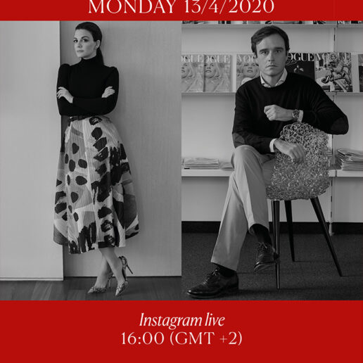 Emanuele Farneti: Vogue Greece's Instagram live with the pioneer Editor