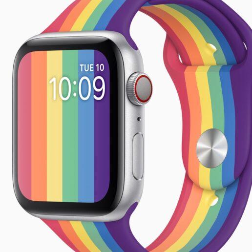 Η Apple τιμά την LGBTQIA+ κοινότητα με ένα Apple Watch στα χρώματα του Pride
