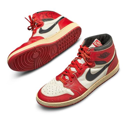 Michael Jordan: Το ζευγάρι αθλητικών που σημείωσε ποσό – ρεκόρ σε δημοπρασία