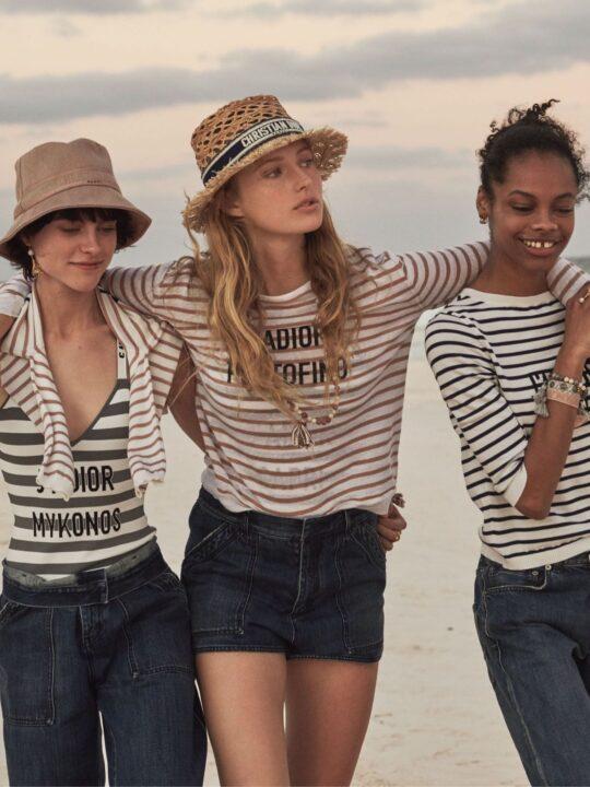 Dioriviera: H νέα capsule συλλογή του Dior ταξιδεύει στη Μύκονο