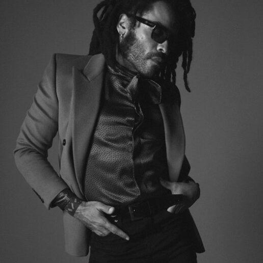 Ο Lenny Kravitz είναι το νέο πρόσωπο για την αντρική συλλογή Saint Laurent