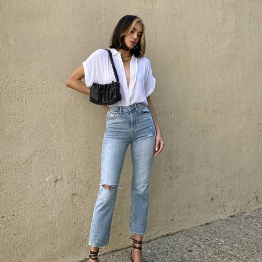 5 σύγχρονοι τρόποι για να φορέσετε το αγαπημένο σας τζιν αυτό το καλοκαίρι