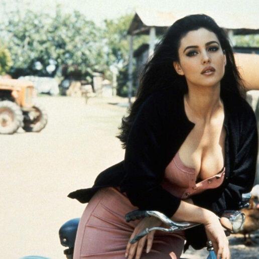 Η Monica Bellucci είναι μία πραγματική ηρωίδα από ταινίες του Fellini