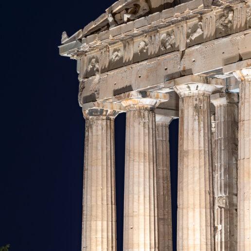 Δείτε σήμερα ζωντανά το νέο φωτισμό της Ακρόπολης