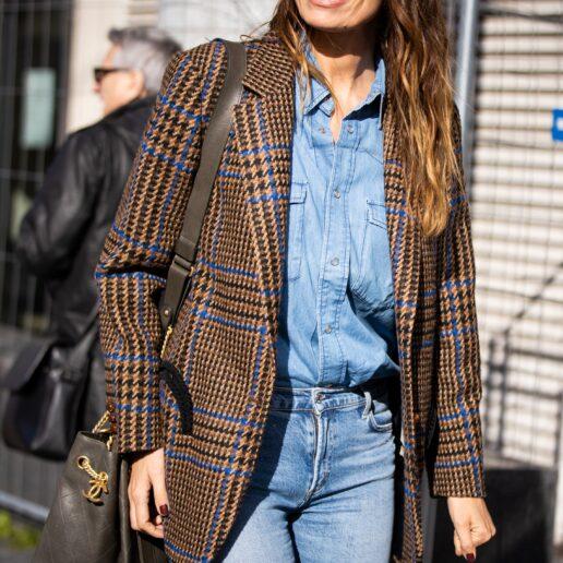 Checked Blazer: Πώς να φορέσετε το ιδανικό πανωφόρι για αυτή την εποχή