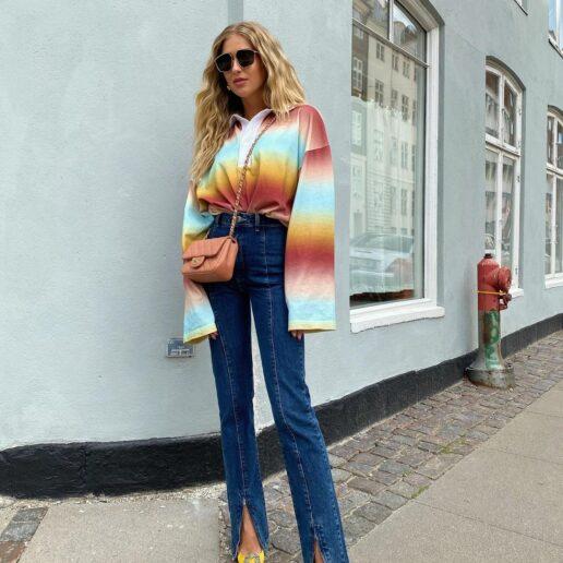 Split Pants: Η λεπτομέρεια που κάνει τη διαφορά στα παντελόνια της σεζόν