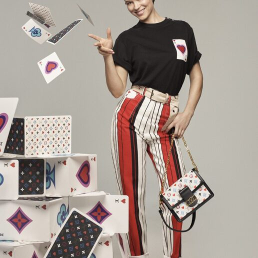 Game On: Η Léa Seydoux παίζει το πιο δυνατό της χαρτί για τον Louis Vuitton