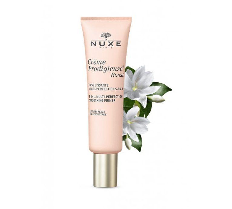 nuxe creme prodigieuse boost base lissante multi perfection 5 en 1 30 ml e1605287891909