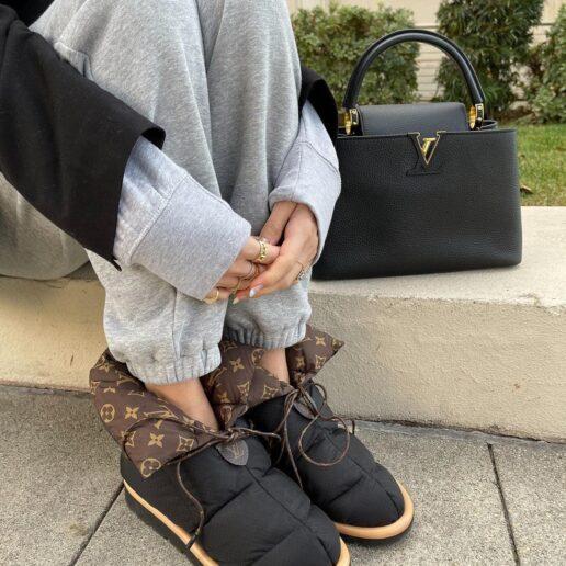 Pillow Boots: H νέα τάση του χειμώνα χάρη στον οίκο Louis Vuitton