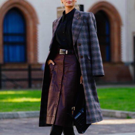 Καρό παλτό: 10 εύκολοι τρόποι να αναβαθμίσετε τα σύνολα σας