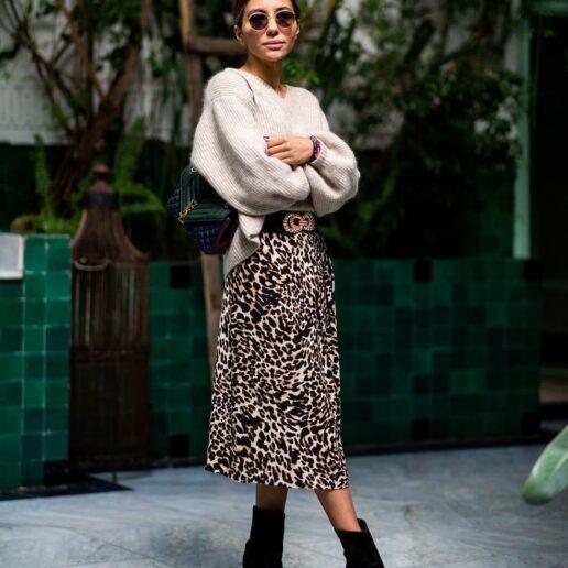 Vogue Guide: Οι πιο κομψές λεοπάρ φούστες και πώς να τις φορέσετε