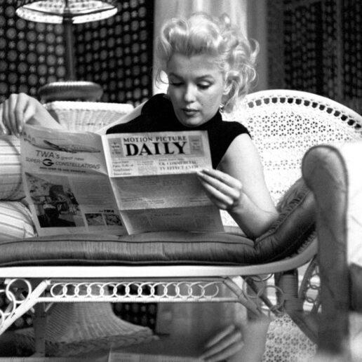 Relaxing at Home: Πώς ντυνόταν η Marilyn Monroe στο σπίτι;