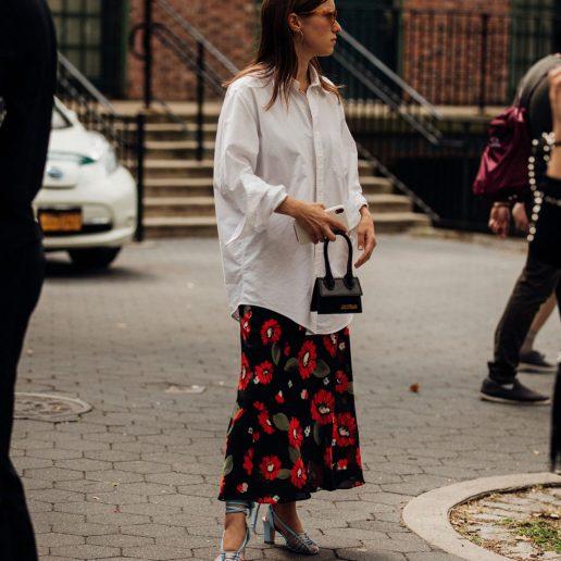Φλοράλ φούστα: 7 ιδέες για να τη συνδυάσετε σαν style expert