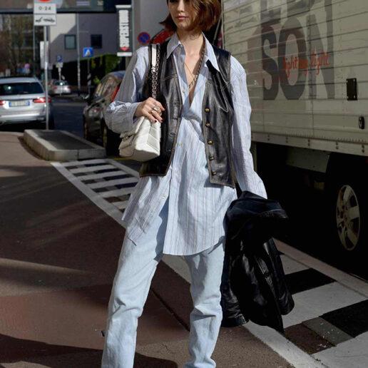Ματιές στις street style εμφανίσεις της εβδομάδας μόδας του Μιλάνου