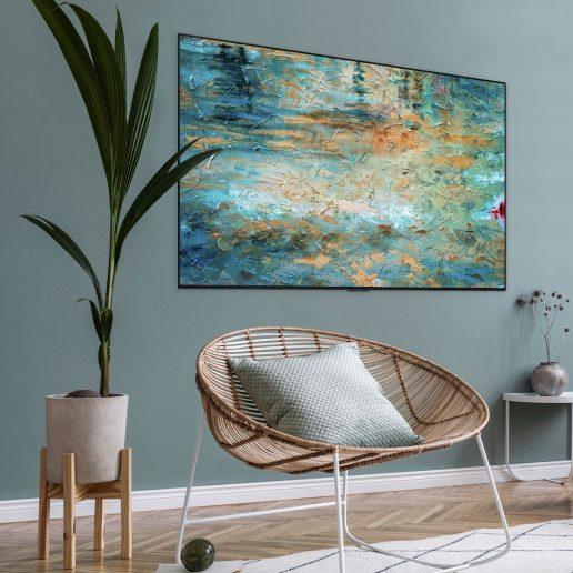 Gallery TV: Η LG σχεδιάζει μία τηλεόραση εμπνευσμένη από τον κόσμο της τέχνης