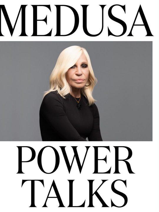 Medusa Power Talks: Ο οίκος Versace ενισχύει τις γυναικείες φωνές σε ένα νέο πρότζεκτ