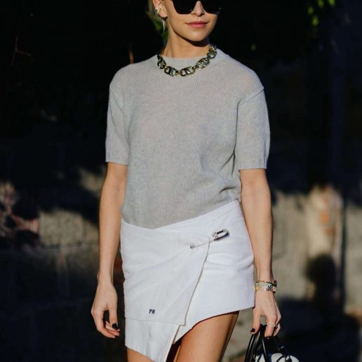Vogue Tips: 4 τρόποι να απογειώσετε τη λευκή σας φούστα
