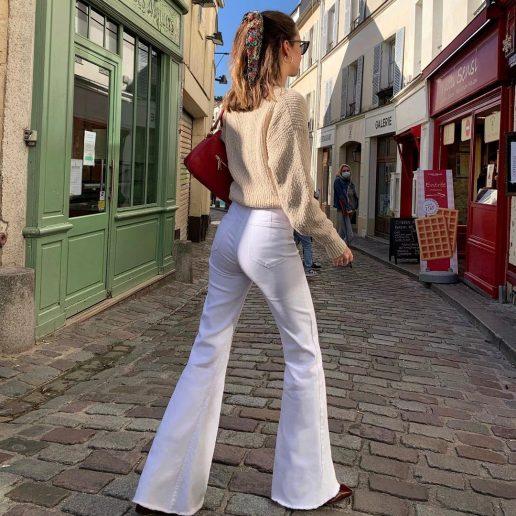 White Jeans: 10 fresh τρόποι να φορέσουμε το λευκό τζιν μας