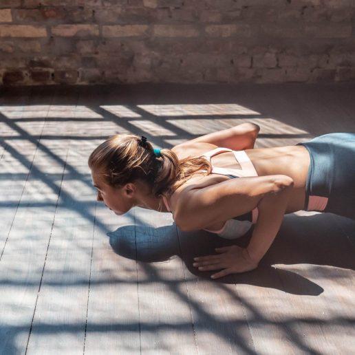Plank Workout: Γυμναστείτε με μια μόνο άσκηση