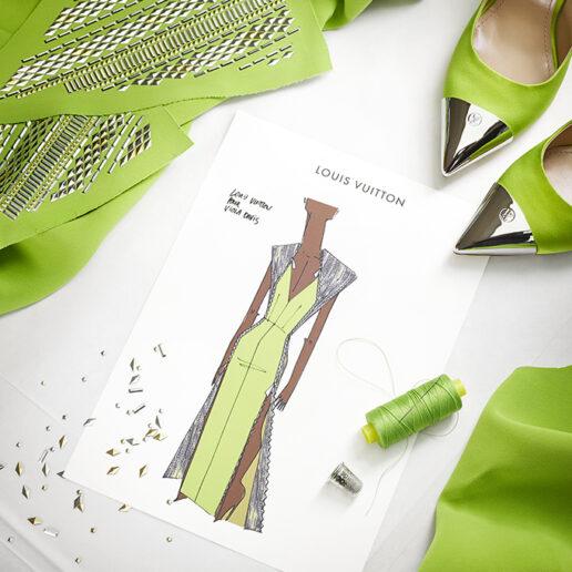 SAG Awards 2021: Πώς δημιουργήθηκε το Louis Vuitton φόρεμα της Viola Davis;