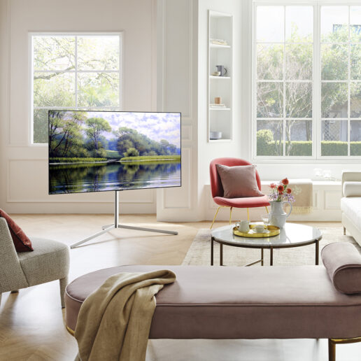 LG Gallery Stand: Η τηλεόραση ακολουθεί πια τις ανάγκες της καθημερινότητάς μας